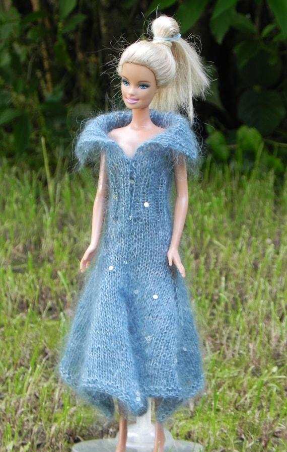 eBook Strickanleitung Barbie Kleid mit Zipfelsaum Anleitung   Etsy