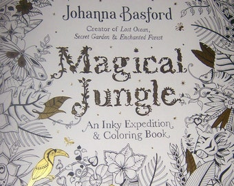 PENGUIN Original Adult Coloring Book MAGICAL JUNGLE By Johanna Basford 2016