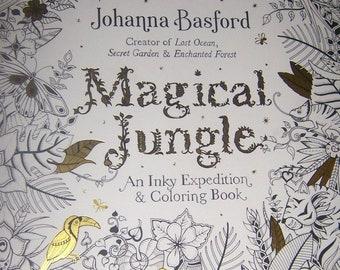 PENGUIN Original Adult Coloring Book MAGICAL JUNGLE By Johanna Basford 2016
