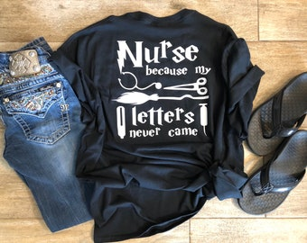 50db6b254f7 Harry Potter Inspired Nurse Shirt