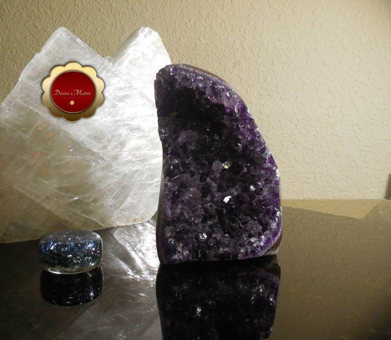 Amethyst Geode Brazil Amethyst Geode Amethyst Cluster image 0