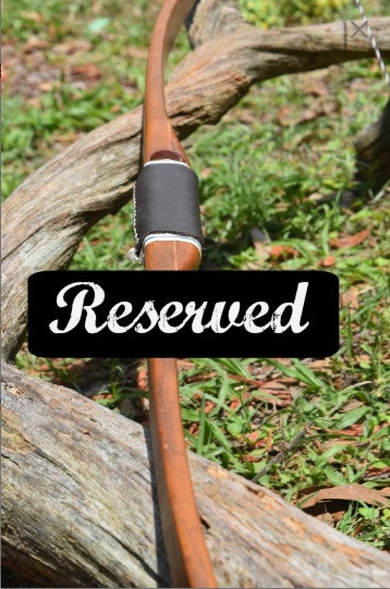 Reserved, Archery bow, vintage Indian, longbow, 45#, Indian Archery Evansville, Indiana