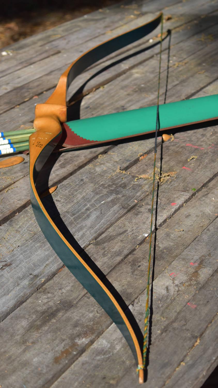 Archery Bow Vintage Impala Recurve Bow 43 Bow