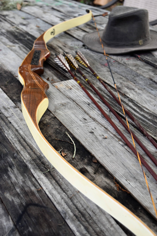 Archery Bow Vintage Bear Tartar 45 Recurve Bow Rh
