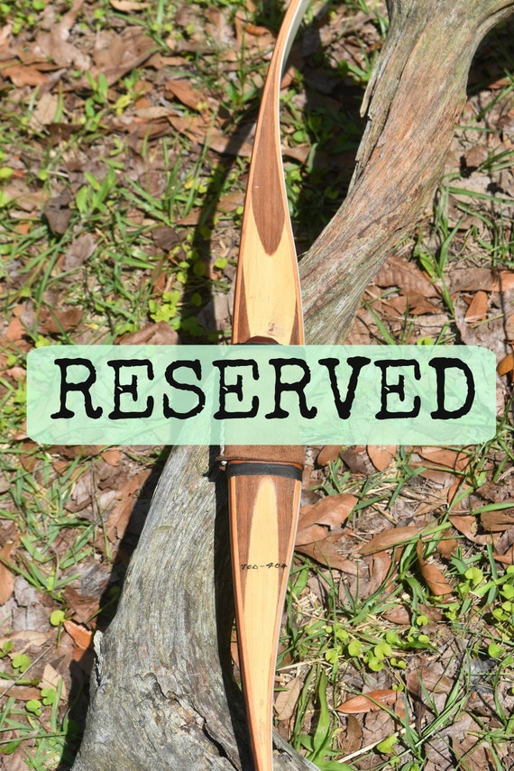 Reserved for Melissa, Archery Bow, Vintage Ben Pearson Pony, 40# recurve bow
