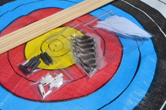Archery arrow diy kit, Birch shafts, build your own arrows