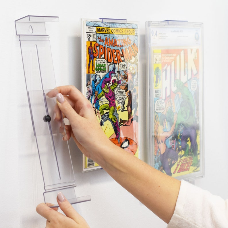 ComicMount™ Comic Book Frame Display System  Invisible and image 0