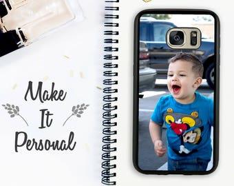 Custom Galaxy S8 Case Galaxy S8 Plus Personalized Note 8 Custom Case Personalized Gift Idea Photo Case Galaxy S7 Edge Galaxy S7 Gift