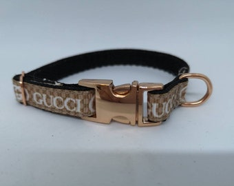 f18d84b5153 Designer Dog Collar for micro tcup puppy XXS 10mm wide