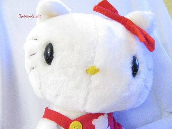 Hello Kitty Plush Toys : Ho hello kitty stripes hug stuffe end pm