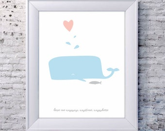 Printable Poster [stampabile] ~ Love me anyway, anytime, anywhere