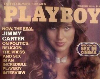 Playboy Magazine November 1976- Amazing Vintage Classic!