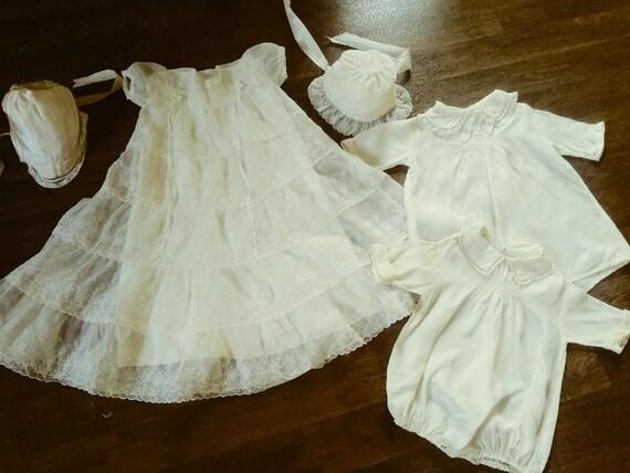 Baby Christening Set 1950s