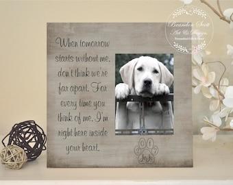 Pet Memorial Frame Etsy