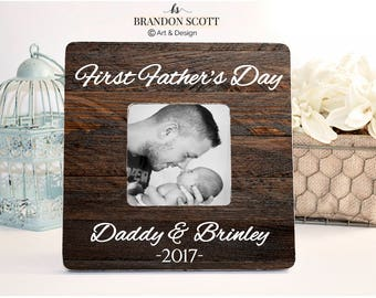 63cdb12079a Father's Day Frame, First Father's Day Frame, First Fathers day Gift, New Dad  Gift, 1st Father's Day Gift, Gift New Dad, Gift for husband