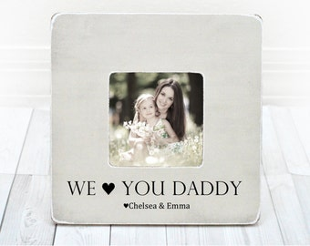 Love You Daddy Frame Etsy