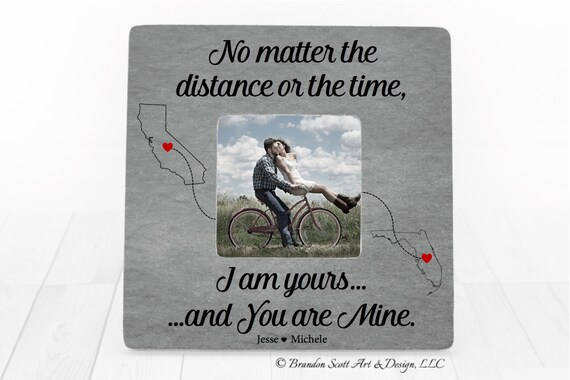 Long Distance Relationship Gift Ideas Personalized Boyfriend Etsy