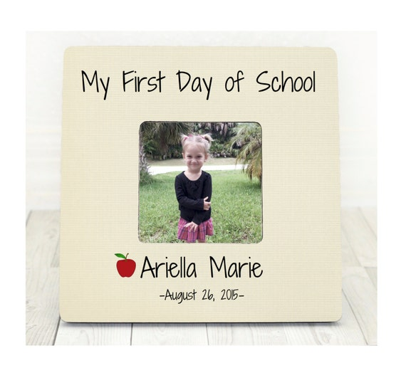 Personalized Picture Frame Custom Picture Frame Kids Picture Etsy