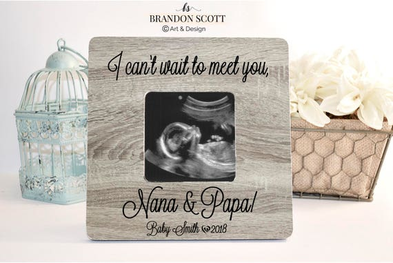 Pregnancy Announcement For Grandma Grandparents Gender Etsy