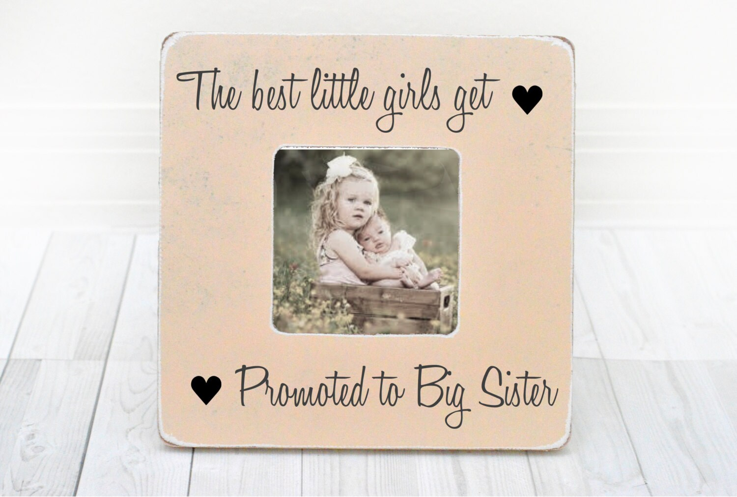Big Sister Frame Big Sister Gift New Sibling Gift Only the | Etsy