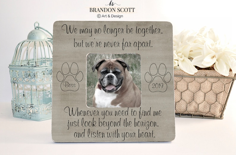 Personalized Pet Memorial, Pet Memorial Frame, Dog Memorial, Pet Loss  Gifts, Memorial Gift