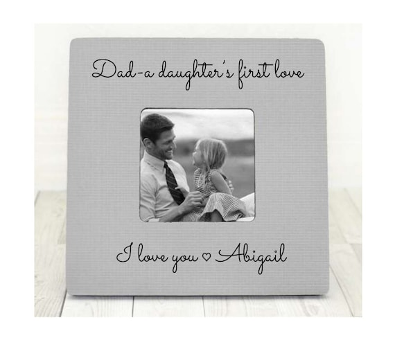 Fathers Day Gift For Dad Frame Dad Picture Frame Dad Photo Etsy