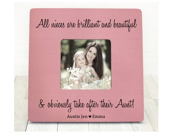 Mothers day Gift for Sister Frame New Aunt Frame Aunt Frame Auntie Frame Auntie Gift Niece Gift Aunt Niece frame