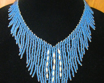 Waterfall Beaded Necklace Tutorial