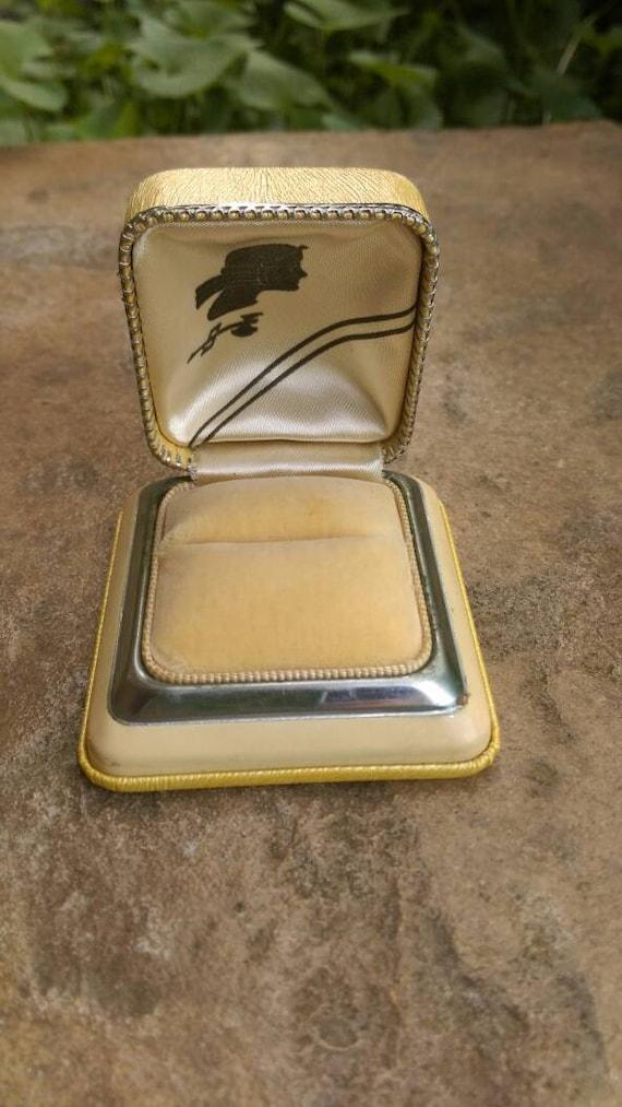 Art deco ring box, antique ring box, presentation