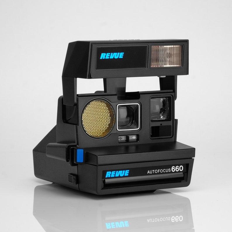 Autofocus 660 Revue Refurbished Polaroid 600 Camera