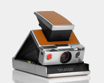 Polaroid SX-70 Original Chrome Instant Camera