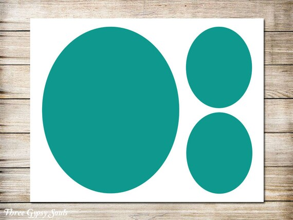 11x14 oval frames storyboard collagetemplate layered psd etsy