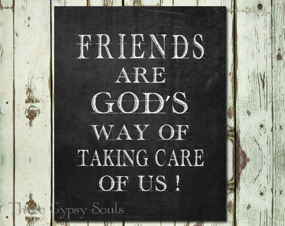 A special gift for your best friend Friendship quote mixed media art print.