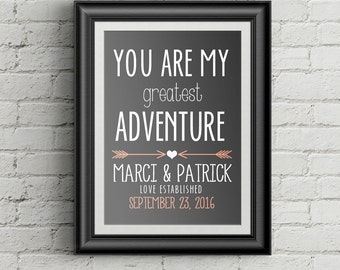 First Anniversary Gift For Husband Anniversary Gift For Boyfriend Girlfriend  Anniversary Gift For Men Personalized Wedding Anniversary