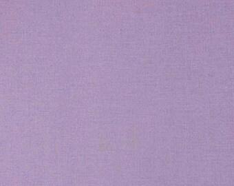 Tissu coton uni mauve foncé