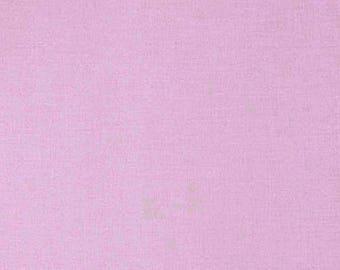 Tissu coton uni mauve clair