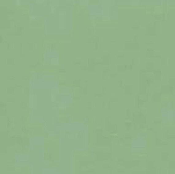 Tissu coton uni couleur vert amande pour patchwork et/ou   Etsy