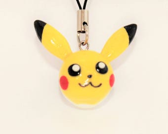 Pikachu Pokeball Key Chain