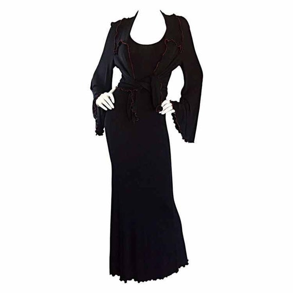 Stephen Burrows SEXY Witch Costume Jersey 1970s Vi