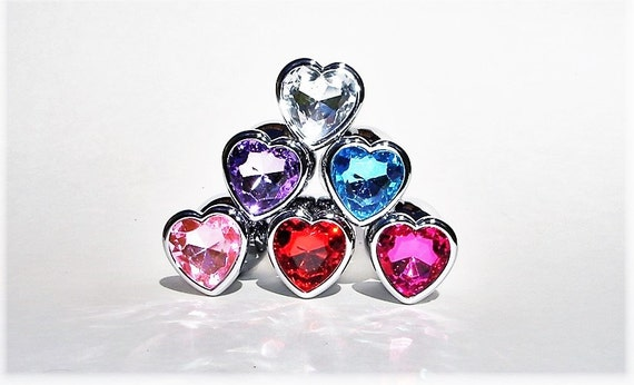 Butt Plug Heart Shaped Plugs Anal Plug Sex Toy Plugs Jeweled  Etsy-3373