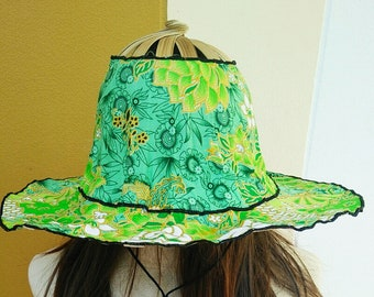 Folding fan hat  649c9f84bf4