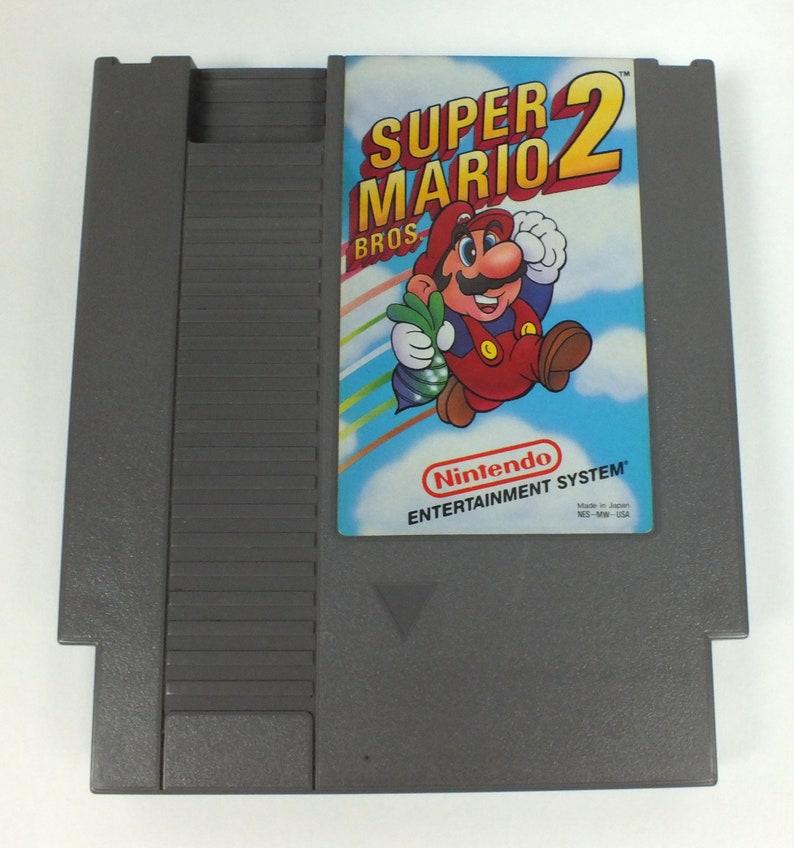Original NES - Super Mario Bros  2 - Nintendo GameTested and Works