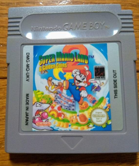 Super Mario Land 2 6 Golden Coins Nintendo Gameboy game with original game  boy