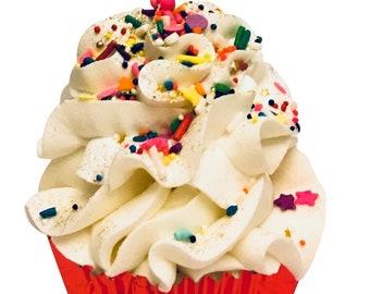 Birthday Wishes Cupcake Bath Bomb