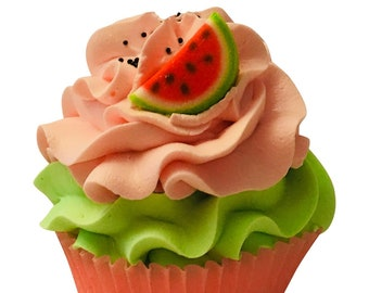 One in a Melon Cupcake Bath Bomb