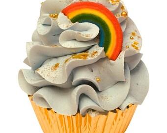 Mini Over the Rainbow Cupcake Bath Bomb
