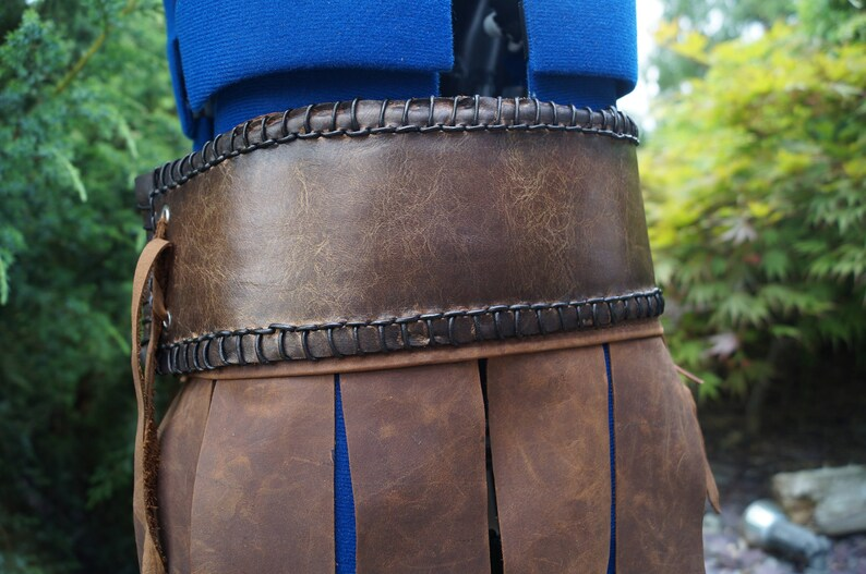 Max height for this costume is 45 Conan The Barbarian costume.......100/% real Leather used Childs