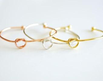 bca8e73cd Love knot bracelet