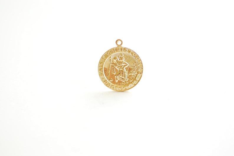 Christpher//Football Pendant DiamondJewelryNY 14kt Gold Filled St