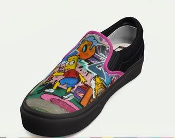 deadae5a029c Custom vans shoes